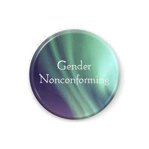 Gender Nonconforming 缶バッジ