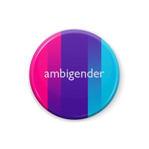 ambigender 缶バッジ Type-I