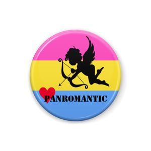 パンロマンティック 缶バッジ Cupid ver.