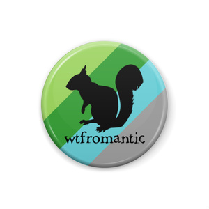 wtfromantic 缶バッジ Squirrel ver.