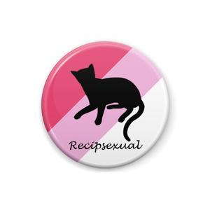 recipsexual 缶バッジ Cat ver. Type II