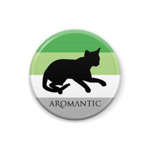 Aロマンティック 缶バッジ Cat ver.