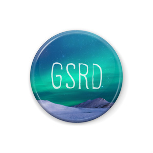 GSRD 缶バッジ Type II