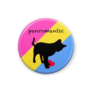 パンロマンティック 缶バッジ Cat ver.