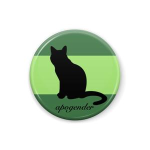 apogender 缶バッジ Cat ver.