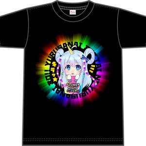 花騎士Tシャツ「ステラ(黒)」 size:L