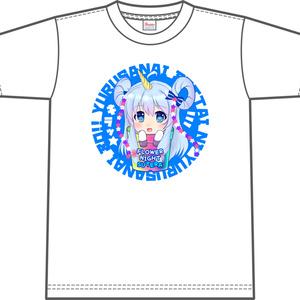 花騎士Tシャツ「ステラ(白)」 size:L/XL