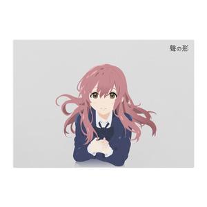西宮硝子 . 聲の形  Nishimiya Shouko - A Silent Voice Poster