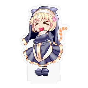 ぷちもんど佐々木ちゃん(猫ver) アクリルフィギュア