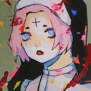 原画「cherry」