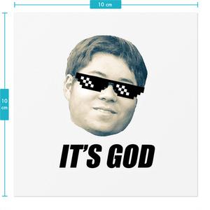IT'S GOD ステッカー