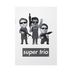 Super trio クリアファイル A4サイズ