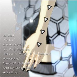 公衆衛生局管理AI 覩鐘-トガネ- 【VRChat想定】