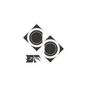 ES中枢機構ロゴステッカー