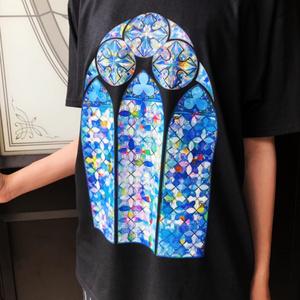ステンドグラスTシャツ