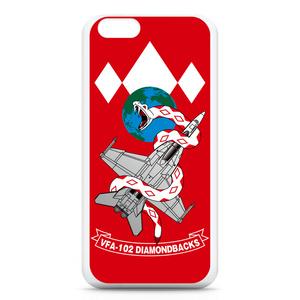 "VFA-102""Diamondbacks""iPhone6ケース 赤"