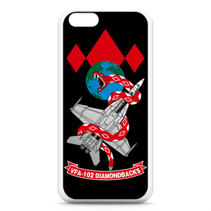 "VFA-102""Diamondbacks""iPhone6ケース 黒"