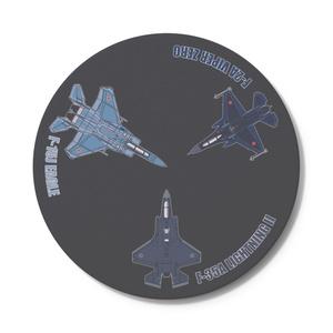 JASDF Fighters 2021-(全種推し) 丸型
