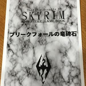 スカイリム冒険ゲームブック2 ブリークフォールの竜碑石