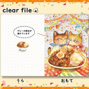 クリアファイル/カレー