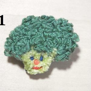 刺繍ブローチ・お野菜