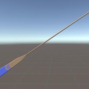 【無料】オール(櫂) 3Dモデル(FBX)