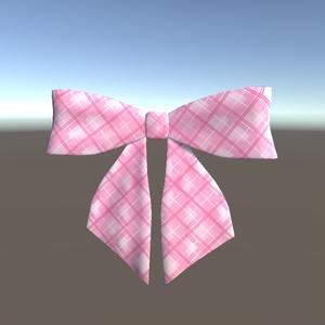 制服リボン 3Dモデル(FBX)