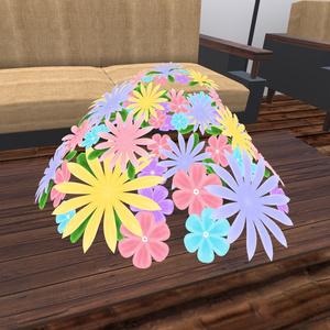 花冠(髪飾り) 3Dモデル FBX