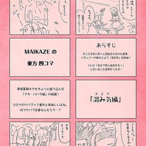 MAIKAZEの東方四コマ2「混み気編」