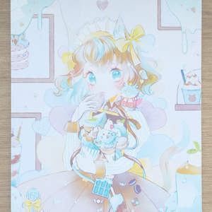 「NEKO CHOCO-2018-」イラストボード