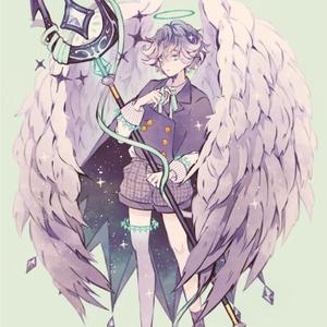 「堕天使」ポストカード