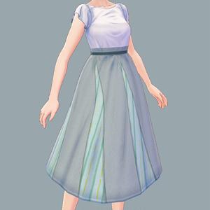 【Vroid用】スカートとシャツ