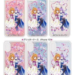 あかスミ iPhone グリッターケース/受注生産