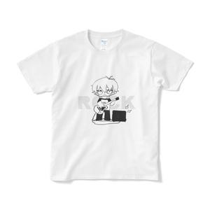 ジュリア モノクロROCKTシャツ (F)