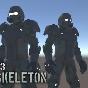 GMP-3 exoskeleton【VRchat向けアバター】