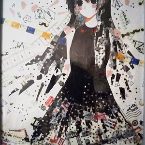 【原画】黒【B5】(送料込み)