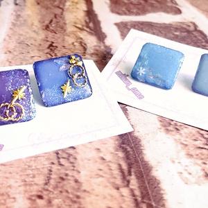 雪の結晶&YOIエキシ衣装イメージピアス