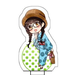 キモノ少女アクリルスタンド(モダン浴衣コーデ)