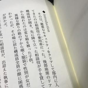 流音 小説冊子「完全な毒を要求する」