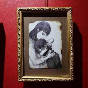 古川沙織 絵画『わたしの弟』