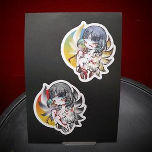 冥麿 DB序展オリジナル カード&シールセット
