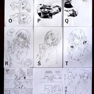高川ヨ志ノリ A5モノクロ画