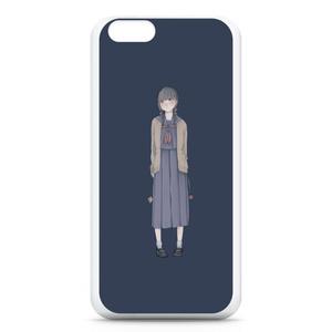 iPhoneケース/制服とチューリップ