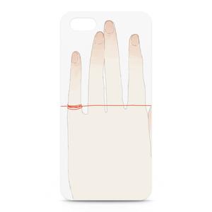 iPhoneケース/赤い糸