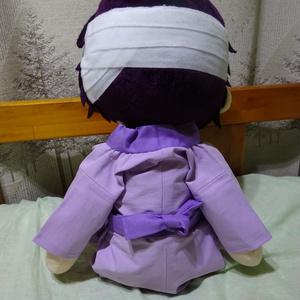 銀魂 くったりちゃん用 襦袢(紫)