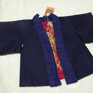 銀魂 くったりちゃん用 羽織(紺)