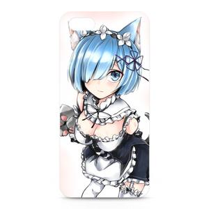 猫レムiPhoneケース