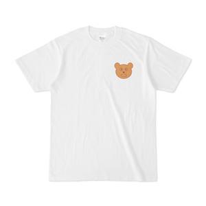 くまちゃんマークTシャツ(背面ワンポイントあり)