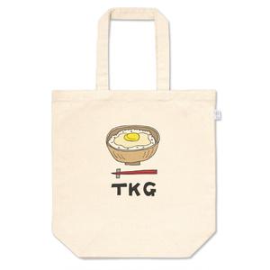 卵かけご飯のトートバッグ(Mサイズ)