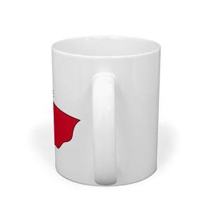 猫ちゃんヒーローのマグカップ